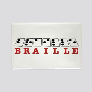Braille Letters Magnets