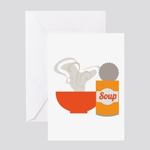 Soup Can Greeting Cards