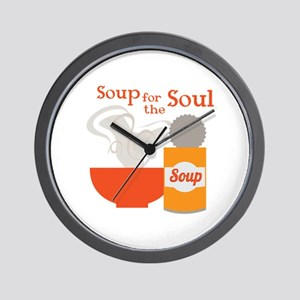 For The Soul Wall Clock