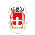 MacLees Sticker (Oval 10 pk)