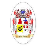 MacLean Sticker (Oval 50 pk)