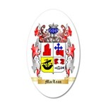 MacLean 35x21 Oval Wall Decal