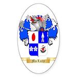 MacLarty Sticker (Oval 50 pk)