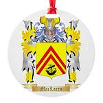 MacLaren Round Ornament
