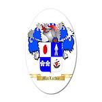 MacLardie 35x21 Oval Wall Decal