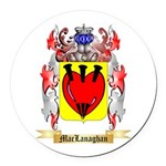 MacLanaghan Round Car Magnet