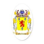 MacKness Oval Car Magnet