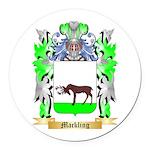 Mackling Round Car Magnet