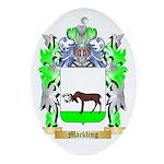 Mackling Ornament (Oval)