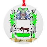 Macklin Round Ornament