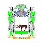 Macklin Square Car Magnet 3