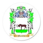 Macklin Round Car Magnet