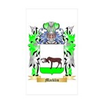 Macklin Sticker (Rectangle 50 pk)