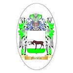 Macklin Sticker (Oval 50 pk)