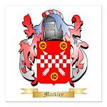 Mackley Square Car Magnet 3