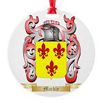 Mackle Round Ornament