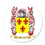 Mackle Round Car Magnet