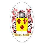 Mackle Sticker (Oval 50 pk)