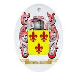 Mackle Ornament (Oval)