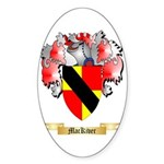 MacKiver Sticker (Oval 10 pk)