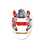 MacKittrick Oval Car Magnet