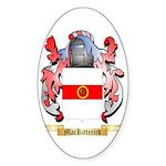 MacKitterick Sticker (Oval 10 pk)