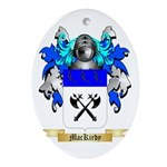 MacKirdy Ornament (Oval)