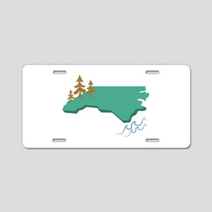 North Carolina Aluminum License Plate