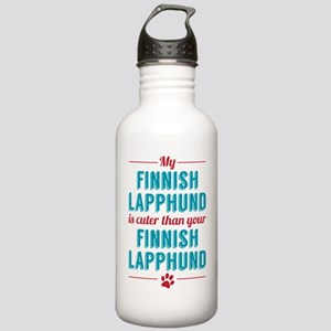 My Finnish Lapphund Stainless Water Bottle 1.0L