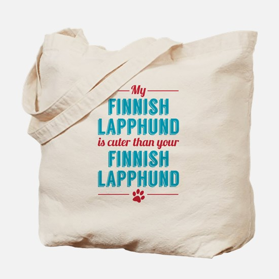 My Finnish Lapphund Tote Bag