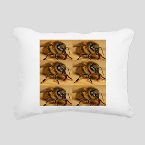 Elementary Rectangular Canvas Pillow