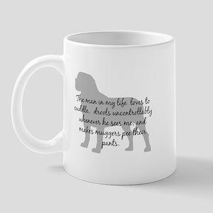Mastiff Man in my life Mug
