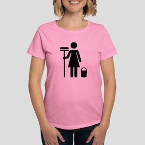 Cleaning service Women's Dark T-Shirt