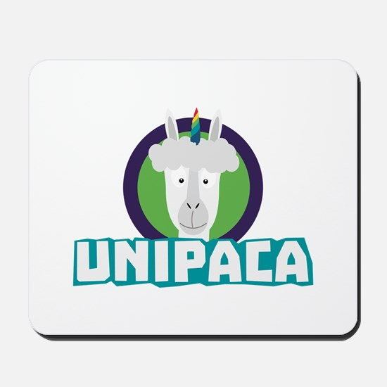 Unipaca Unicorn Alpaca C67aj Mousepad