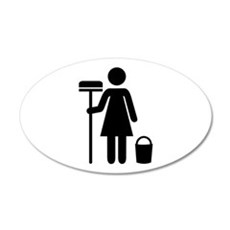 Cleaning service Wall Decal