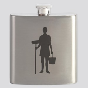 Cleaning staff Flask