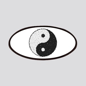 Yin And Yang Symbol With Texture Patch