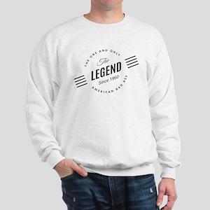 Birthday Born 1960 The Legend Sweatshirt