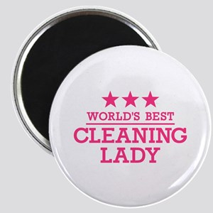 World's best cleaning lady Magnet