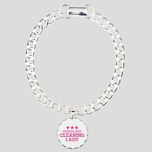 World's best cleaning la Charm Bracelet, One Charm