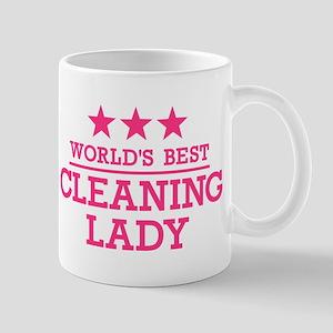 World's best cleaning lady Mug