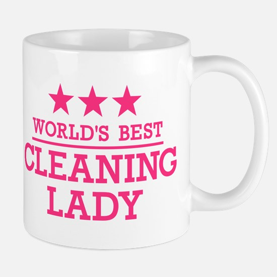 World's best cleaning lady Mug