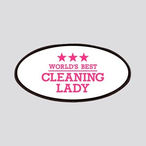 World's best cleaning lady Patch