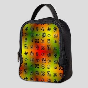 Adinkra Symbols With African Co Neoprene Lunch Bag