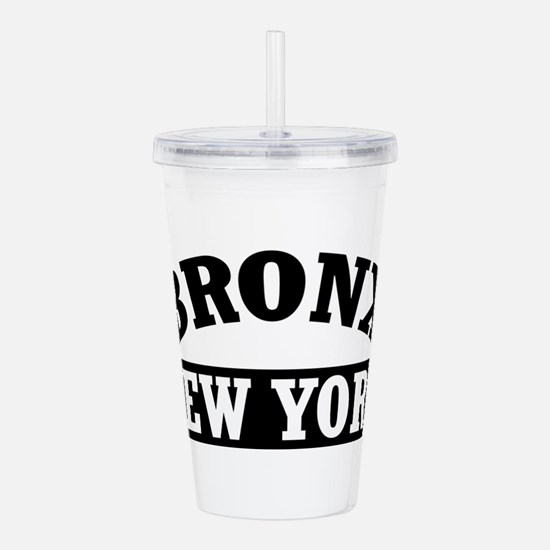 BRONX, New York Acrylic Double-wall Tumbler