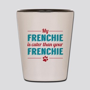 Cuter Frenchie Shot Glass