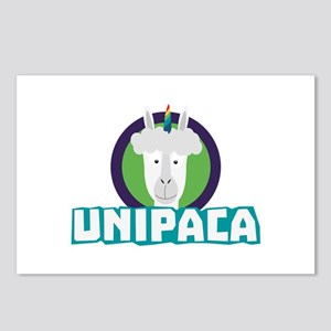Unipaca Unicorn Alpaca C6 Postcards (Package of 8)