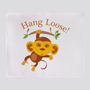 Hang Loose Throw Blanket