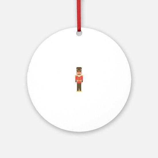 Nutcracker Ornament (Round)