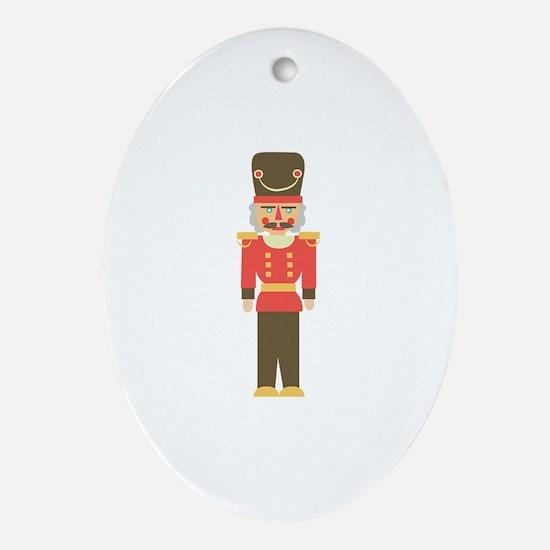 Nutcracker Ornament (Oval)